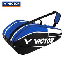 Сумка для бадминтона Victor портативная Теннисная ракетка спортивная сумка для аксессуаров сумка для теннисных ракеток Tenis для 12 ракетки большой емкости BR6211