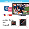 1 year 2000+ Channels Europe Arabic French Belgium Germany IPTV Code Live TV For M3U Mag25x France Belgian Android TV Box
