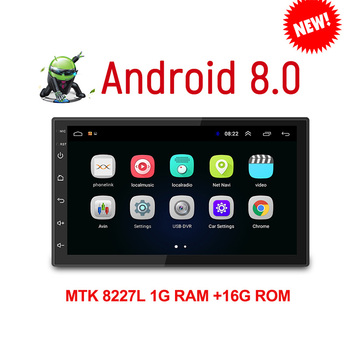 Android 8.0 2 Din Car radio Multimedia Video Player Universal auto Stereo GPS MAP For Volkswagen Nissan Hyundai Kia toyata CR-V image