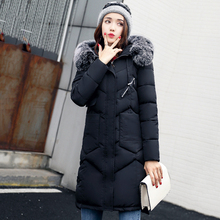 Hooded Coat Fur Collar Thicken Jacket Female Plus Sizes Available Outerwear Parka