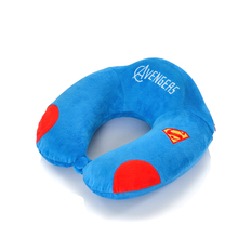 Cartoon U Pillow Supporting Cervical Vertebra Memory Cotton U-shaped Superman