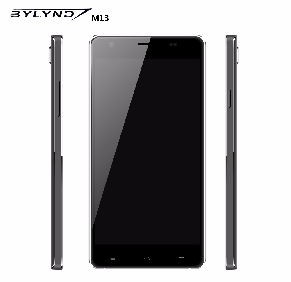 Original BYLYND M13 Smartphones MTK6735 Quad Core 2GB RAM 16GB ROM 5+13MP Android OS 5.1 IPS 5.5 inch 4G LTE-FDD Mobile Phones