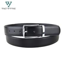 2016 New Mens Fashion Leather Belt Leisure Business Cowskin Black Casual One Size Cintos 100cm-135cm Hot Sale 1DM3