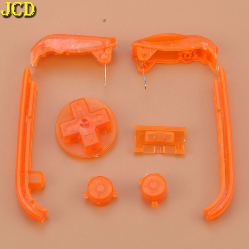 Image 3 - JCD Multi Color Buttons Keypads L R A B Buttons For Gameboy Advance Buttons Frame For GBA D Pads Power ON OFF Buttons-in Replacement Parts & Accessories from Consumer Electronics