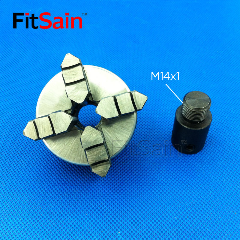 FitSain-négy állkapocs-tokmány D = 50mm CNC mini ÖNKÖZÖTT - Szerszámgépek és tartozékok - Fénykép 3