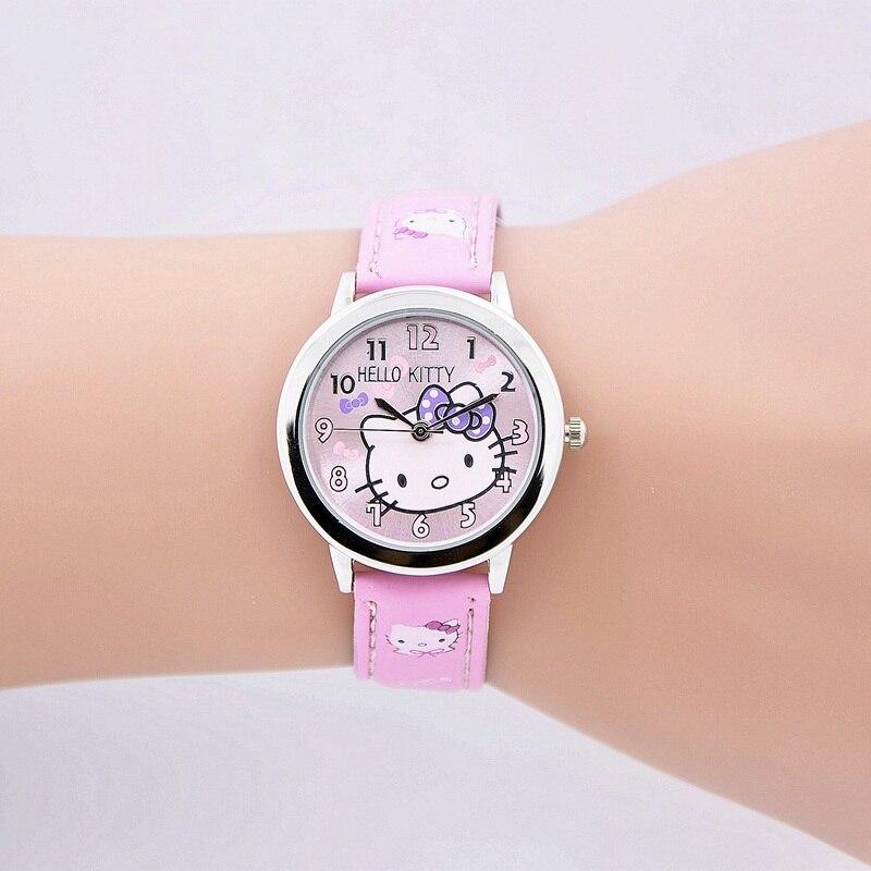 Toy Hello Kitty Watch : Free shipping fashion cartoon quartz watch wristatch