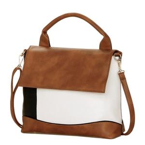 Image 2 - YASICAIDI Fashion Patchwork Pu Leather Handbags Luxury Brand Women Crossbody Shoulder Bag Female Casual Tote Ladies Hand Bags