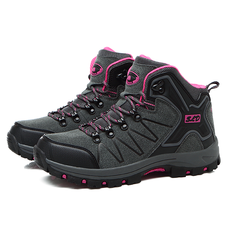 2016 Man Sports Outdoor Hiking Shoes Fishing Athletic Trekking Boots Women Climbing Walking Sneakers zapatillas trekking mujer 2016 man women s brand hiking shoes climbing outdoor waterproof river trekking shoes