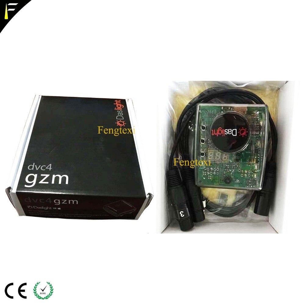 Daslight 4 DVC4 GZM Daslight Virtual Controller Mini USB DMX512 Interface Di Console for PC iOS/WindowsXP/Windows7/Windows10