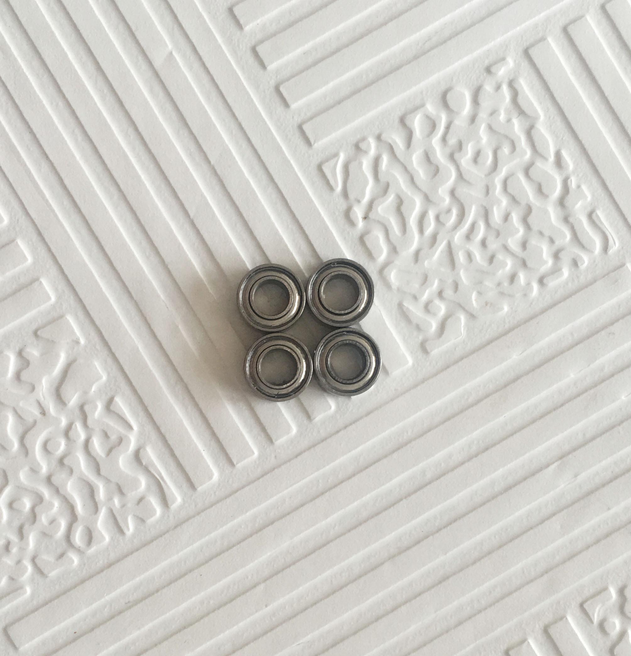 683ZZ 683Z 683 deep groove ball bearing 3x7x3mm miniature bearing full complement 681 681zz deep groove ball bearing 1x3x1mm miniature bearing 1 3 1mm full complement