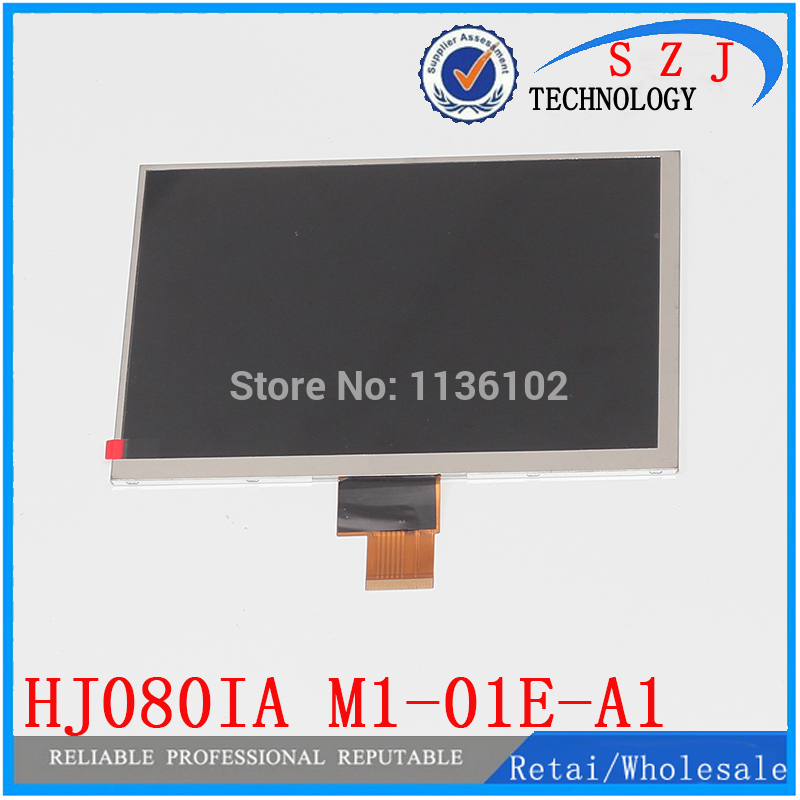 New 8'' inch HD F8 HJ080IA - 01e M1 - A1 IPS tablet LCD display screen Replacement Free shipping HJ080IA-01e M1-A1 new original package innolux 8 inch ips high definition lcd screen hj080ia 01e m1 a1 32001395 00