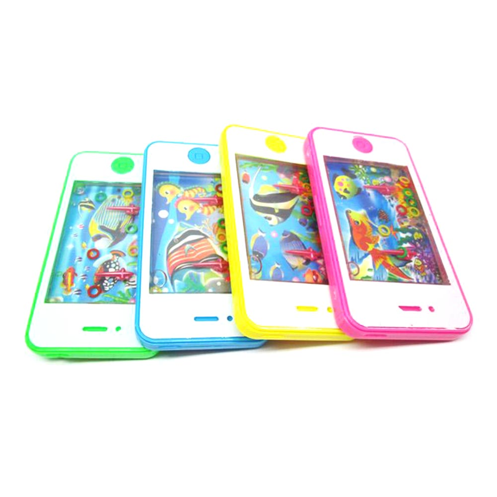 Cell Phone Learning Study Toy Fashion Water Machine Baby Kids Educational Mobile Phone Game Machine Learning Toy Random Color