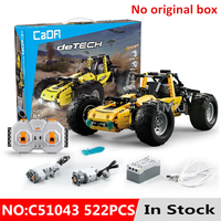 Technic Legoing All terrain Off road RC Car Diy Model 522pcs Building Blocks Bricks Toys For Children Boys Kid Birthday Gifts
