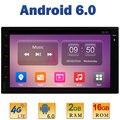 """7 """"1024*600 Quad Core 2 ГБ RAM + 16 ГБ ROM 4 Г LTE WIFI СИМ Android 6.0 2 Din Для Nissan Универсальный Игрок Автомобиля Радио Стерео AUX зеркало"""