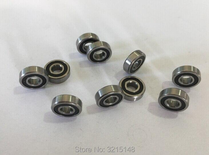699-2RS Hybride Céramique Si3N4 caoutchouc étanche Roulement Roulements 4 pcs 9x20x6 mm