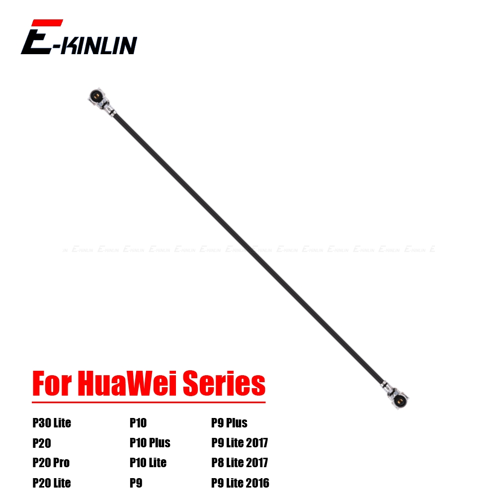 100% NEW For HuaWei P30 P20 Pro P10 Plus P9 Lite Mini 2017 Antenna Signal Wifi  Coaxial Connector Aerial Flex Cable Ribbon