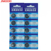 10PCS/CARD For Watch Coin Battery 10pcs CR2032 DL2032 CR 2032 KCR2032 5004LC ECR2032 Button Cell 3V lithium fast shipping