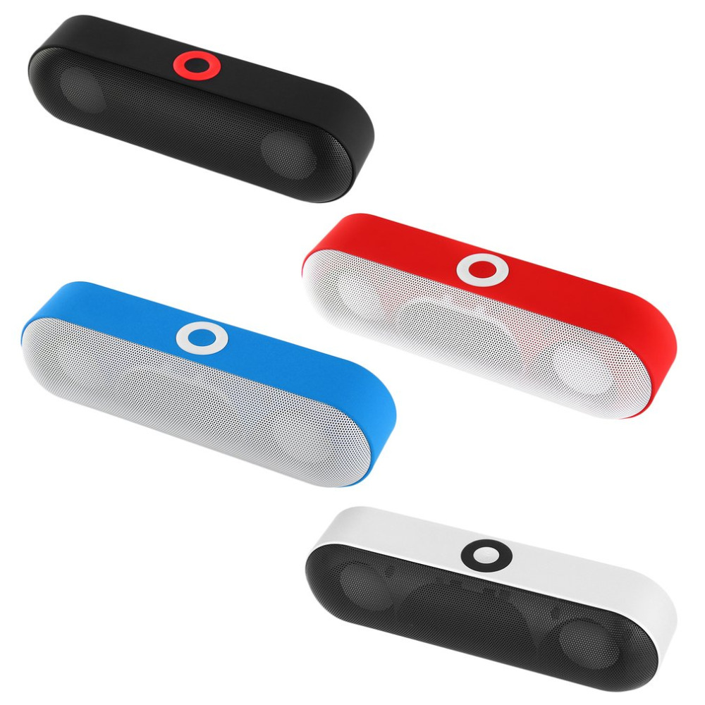 Portable Wireless Bluetooth Speaker 3D Stereo Music Super Bass Speakers Supports USB Disk TF Card Hand-free Call AUX Input