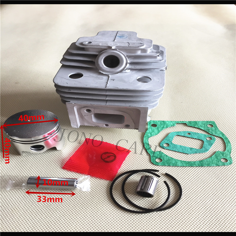 40MM BRUSH CUTTER CYLINDER & PISTON RING WITH NEEDLE CAGE FOR 43CC CG430 VARIOUS STRIMMER TRIMMER 40-5 BG430
