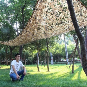Desert Digital Camouflage Netting Outdoor Hunting Camo Net Camping Sun Shelter Car Cover Camouflage Net Hunting Blind Military 4