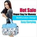 Free Shipping 2014 Multifunctional Nappy Mummy Bag Stylish Diaper bag  nylon mami baby bag diaper bag