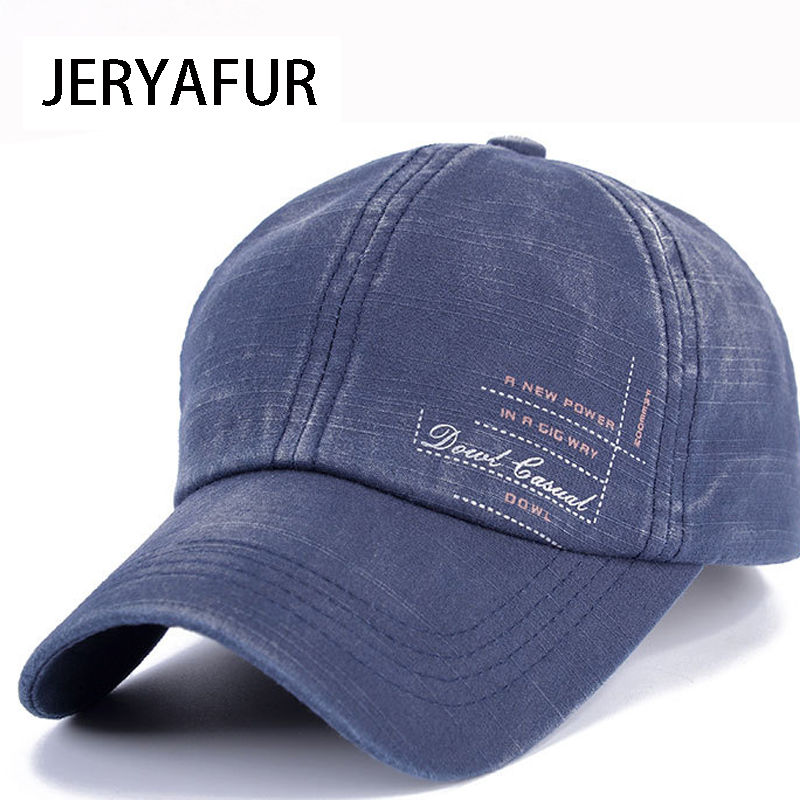 JERYAFUR 2018 New High Quality Unisex Cotton Outdoor Baseball Cap Fashion Sports Hats For Men And Women Cap Golf Caps