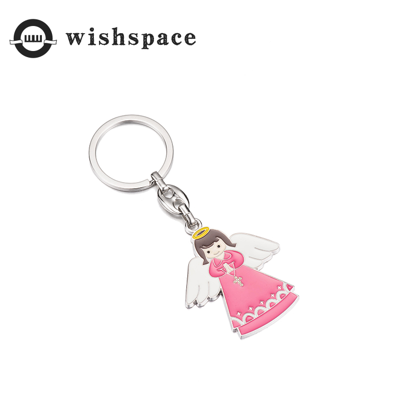 European and American popular han edition cartoon animals angel image alloy ornament drip fashionable woman baby accessories in Key Chains from Jewelry Accessories
