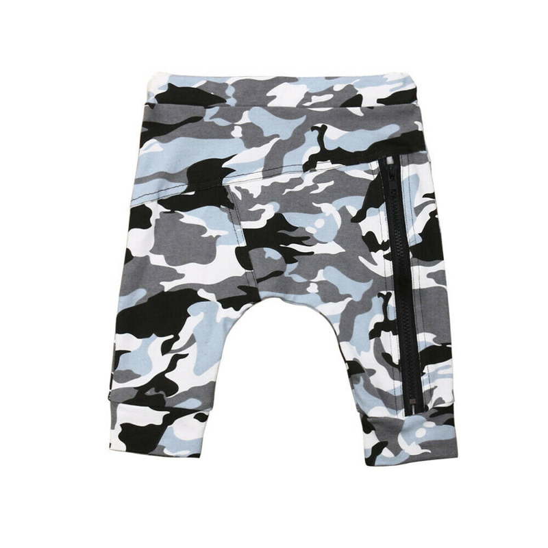 Kids Boys Pants Baby Boy Camouflage Newborn Harem Pants Bottom Casual Toddler Baby Boy Pocket Trousers Cotton Boys Leggings