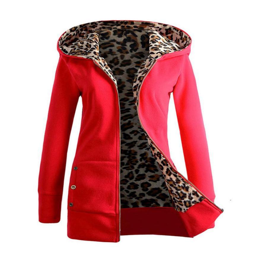 Fashion Women Ladies Street Jacket Outerwear Coats Winter Parkas hooded Female basic tops Zipper Streetwear Warm Coat #LN4550