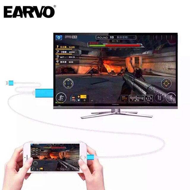 Высокая Скорость 2 м 8 Контактный Разъем для HDMI HDTV Кабель для iPhone 5 6 6 s плюс iPad mini usb для hdmi HD1080P подключения для Молнии Micro USB