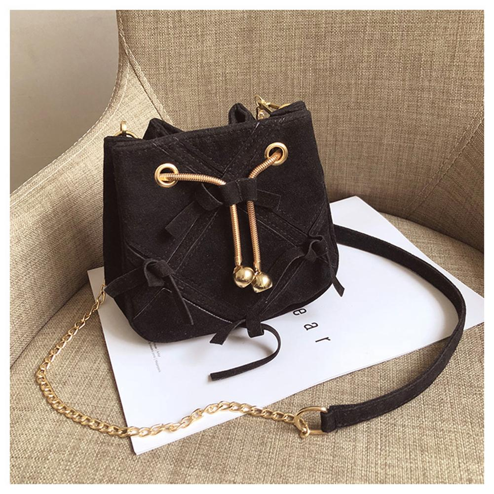 Vintage Leather Drawstring Patchwork Bowknot Woman Shoulder Bag Fashion Crossbody Bags Women Mini Handbag bolsa femininaVintage Leather Drawstring Patchwork Bowknot Woman Shoulder Bag Fashion Crossbody Bags Women Mini Handbag bolsa feminina