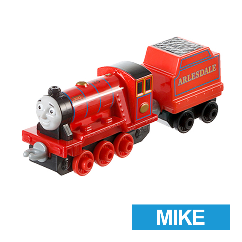 x43 Gift 1: 64 Vehicles Diecasts Thomas mike with hook Thomas And Friends Magnetic Thomas Truck Engine Train Toys For Boys