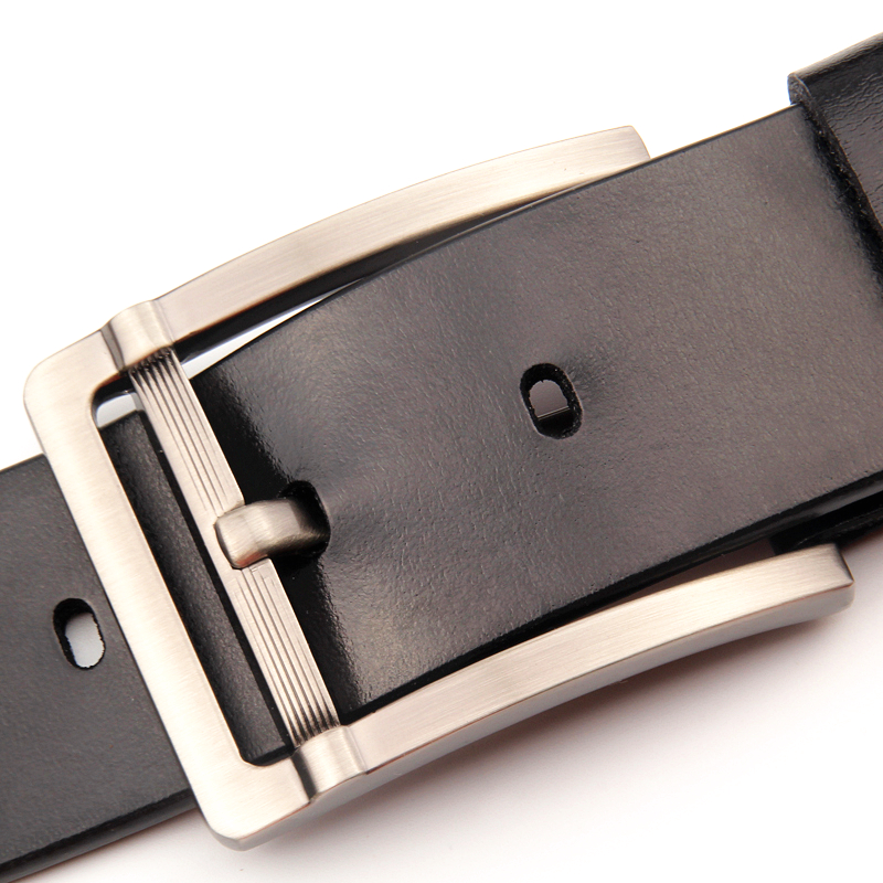 SEVEN SKIN 2017 men belt male genuine leather strap luxury pin buckle belts for men jeans design ceinture homme cinturon hombre