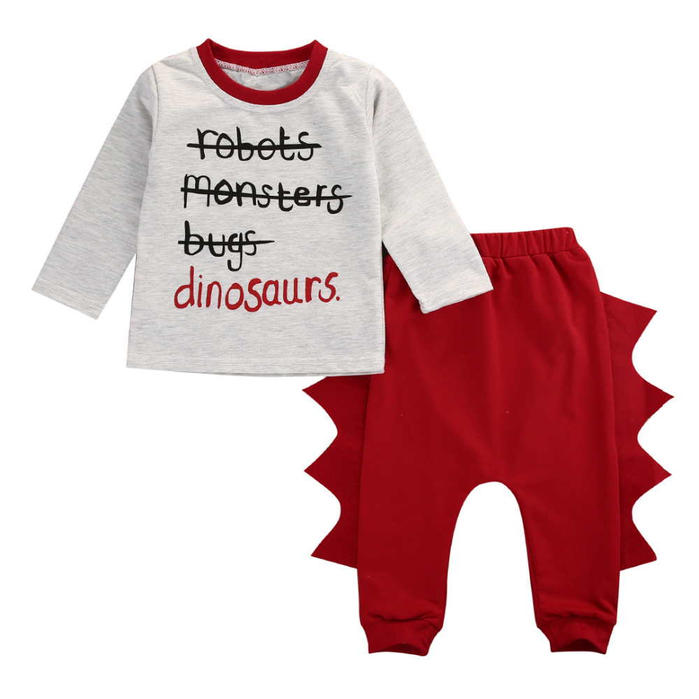 New Baby Clothes Set Toddler Infant Baby Kids Boy Girl Clothes Long Sleeve T-shirt+Pant Legggings Outfits Set Costume 2pcs set baby clothes set boy
