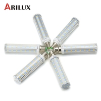 ARILUX LED Bulbs E27 E14 B22 15W 5730 Super Bright No Strobe LED Bulbs Light Corn
