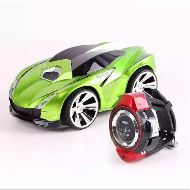 Toy RC Cars With Smart Watch Electric Remote Control Car Voice Command  Racing Games Drift Car Rechargeable Kids Christmas Gift