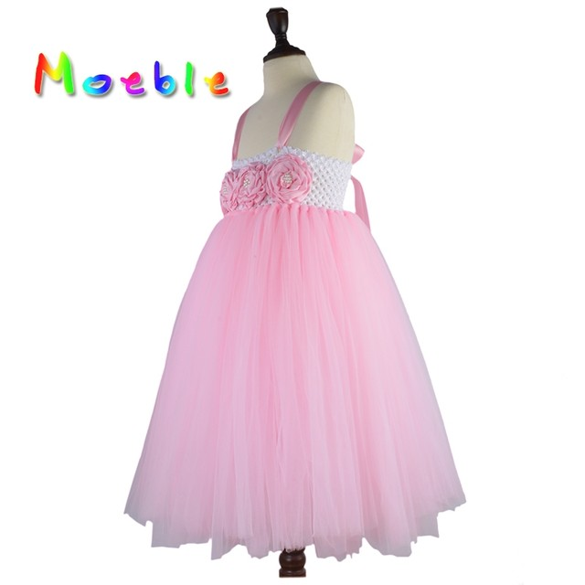 Online Shop Flower Girl Tutu Dresses Wedding Easter Junior ...
