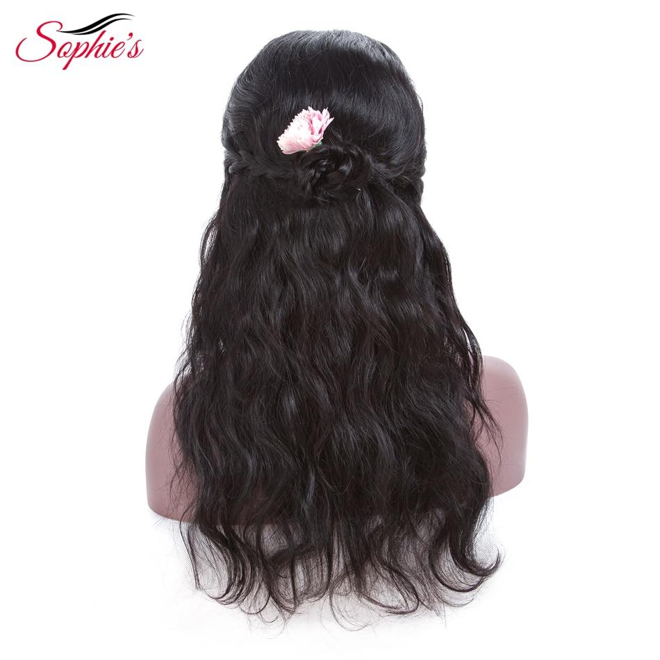 Brasil Lurus Rambut Manusia Renda Depan Wig Wanita 13 * 4 Renda - Pasokan kecantikan - Foto 3