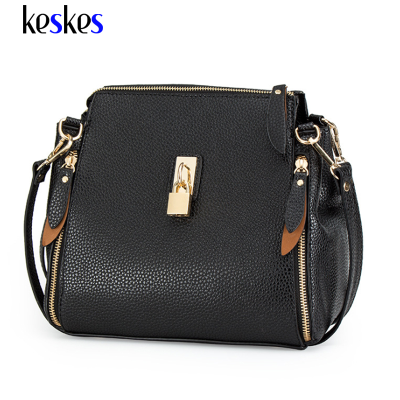 Women Bag Ladies Leather Shoulder Bags Luxury 2017 Famous Brands Women Handbag Designer Female Women Bag Bolsa C2115KK
