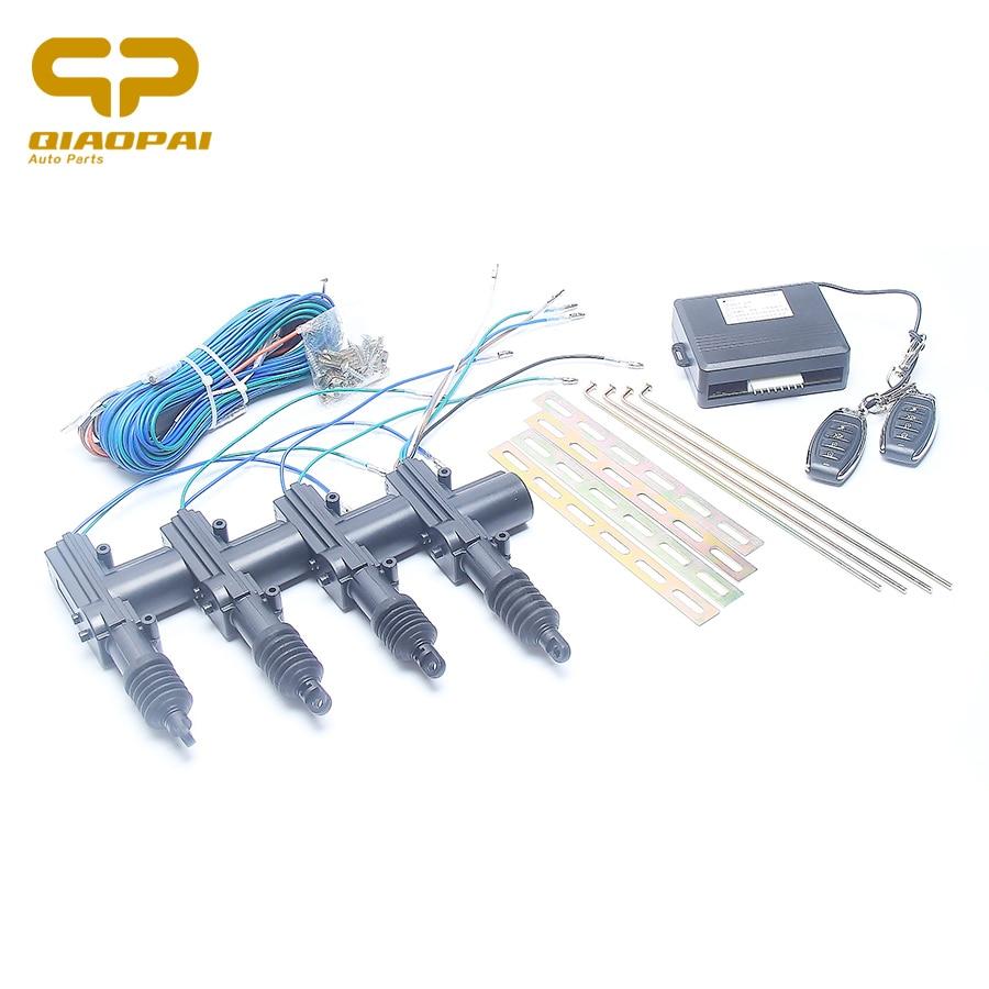 Remote Car Alarm Keyless Entry Security 2 4 Door Power Lock Actuator