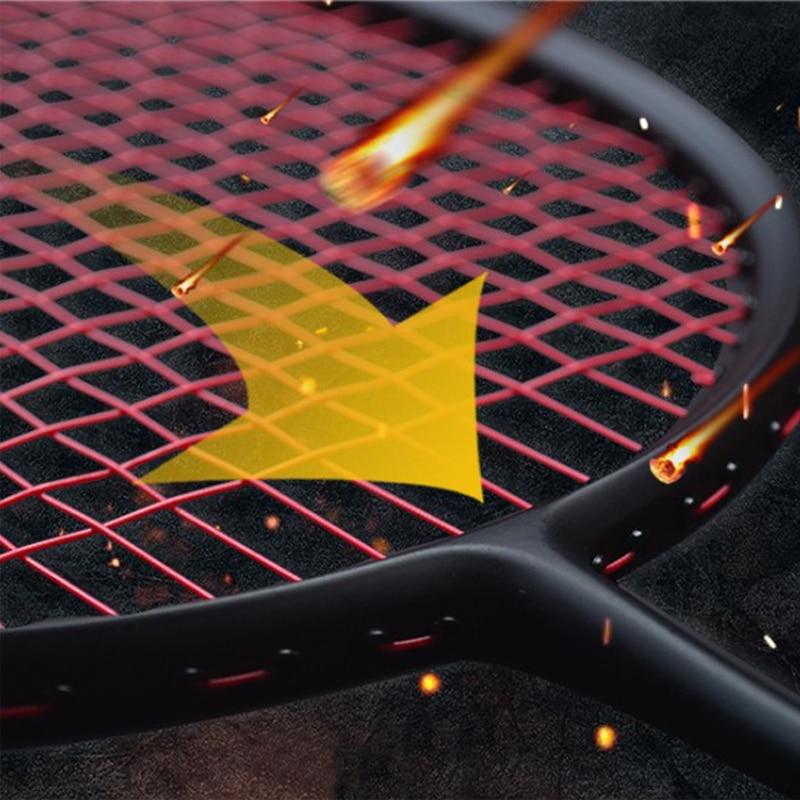 Ultralight 6U 72g and 4U 82g Strung Badminton Racket Professional Carbon Badminton Racquet 22 30 LBS