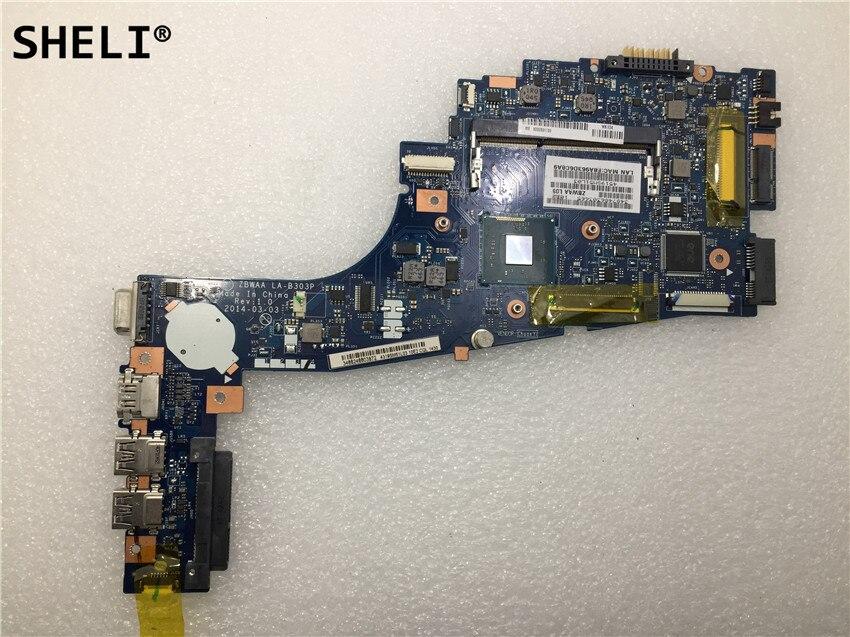 SHELI  For Toshiba  C50 C55 C50-B C55-B C55-B5299 laptop motherboard LA-B303P CPU N2830SHELI  For Toshiba  C50 C55 C50-B C55-B C55-B5299 laptop motherboard LA-B303P CPU N2830