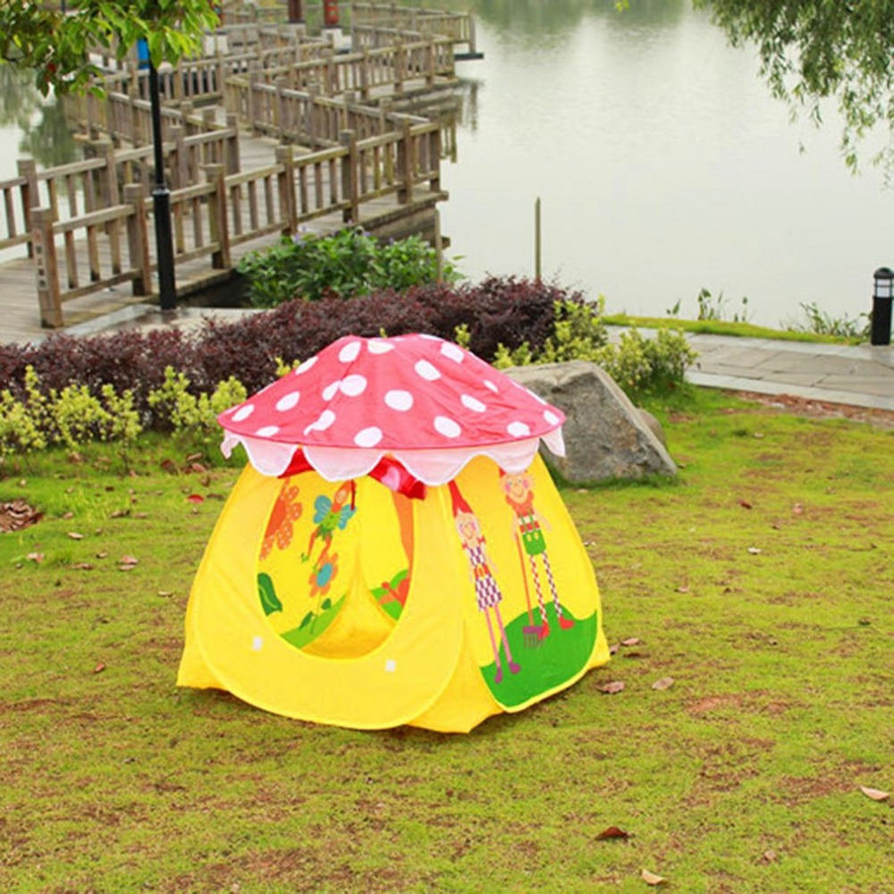 2018 Baru Dilipat Portabel Kain Tradisional Tenda Mainan