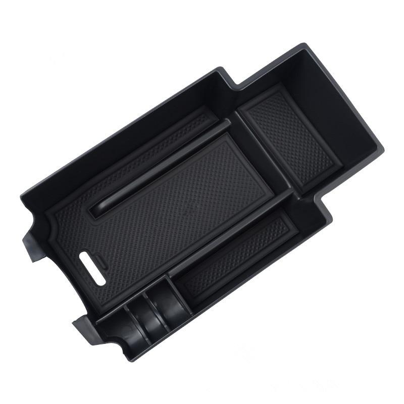 Center Console Glove Tray Armrest Secondary Storage Box Car Organizer Insert Tray Central Console Plate Auto Accessories For C GLC Class W205 C180 C200 C260 C300 GLC200 GLC260 GLC300