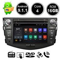 Android 9,1 автомобильный DVD плеер gps навигации для Toyota RAV4 для Toyota Previa Rav 4 2007 2008 2009 2010 2011 Радио стерео Мультимедиа Плеер