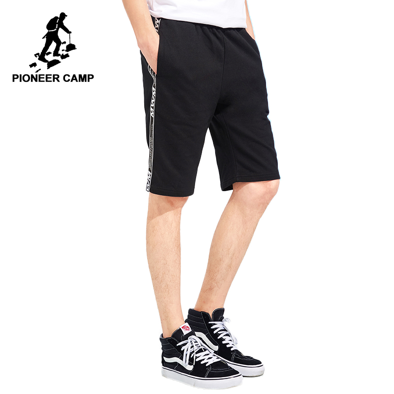 Pioneer camp nouveauté short tricoté pour hommes marque vêtements côté sangle short décontracté homme coton qualité bermuda ADK801105-in Shorts décontractés from Vêtements homme on AliExpress - 11.11_Double 11_Singles' Day 1