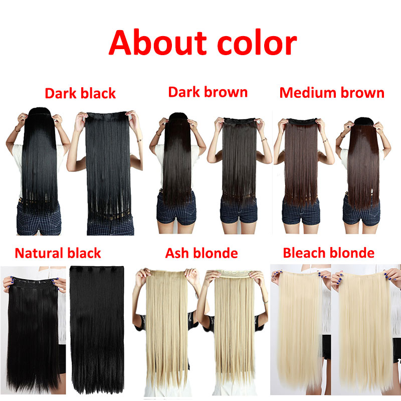 Long straight 242630 inch 34 full head clip in on hair long straight 242630 inch 34 full head clip in on hair extensions thick 100 natural quality free shipping on aliexpress alibaba group pmusecretfo Choice Image