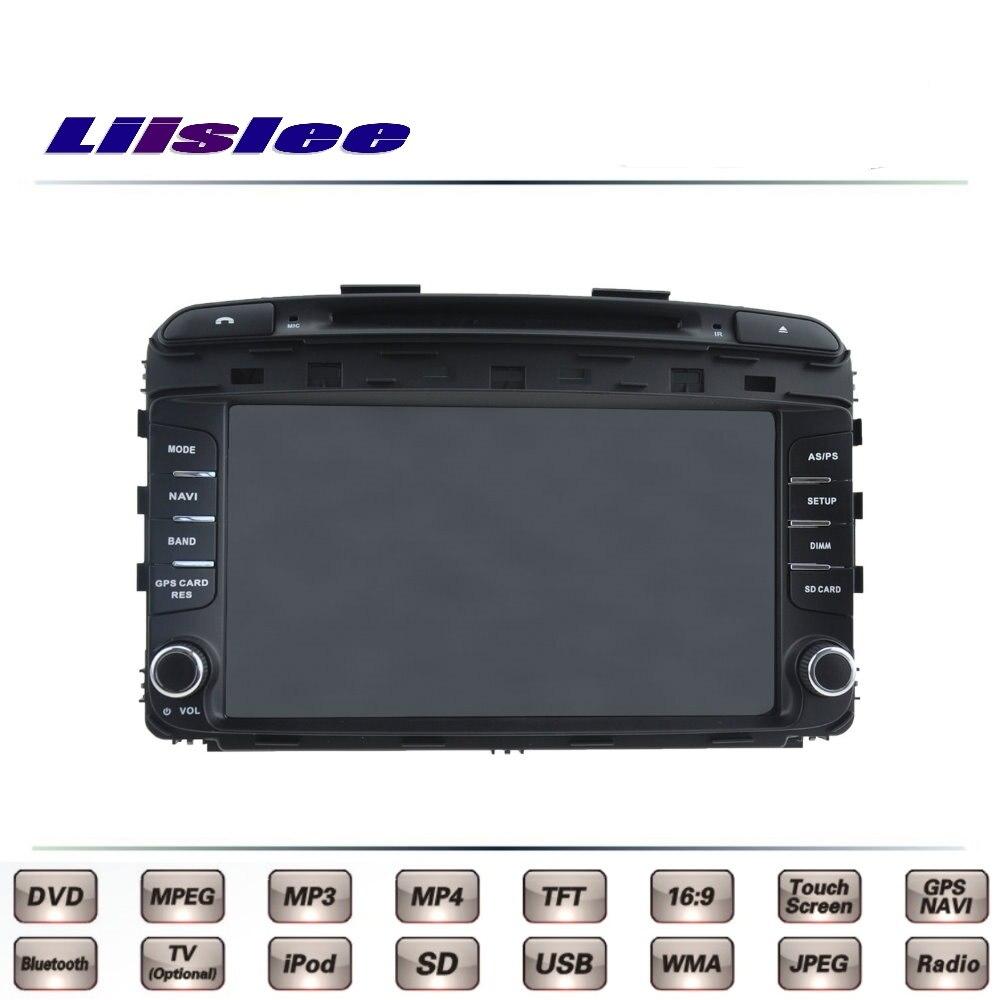 Для Kia Sorento R Naza 2015 2016 штатную ТВ DVD GPS Радио оригинальный Стиль навигации liislee advanced Navi