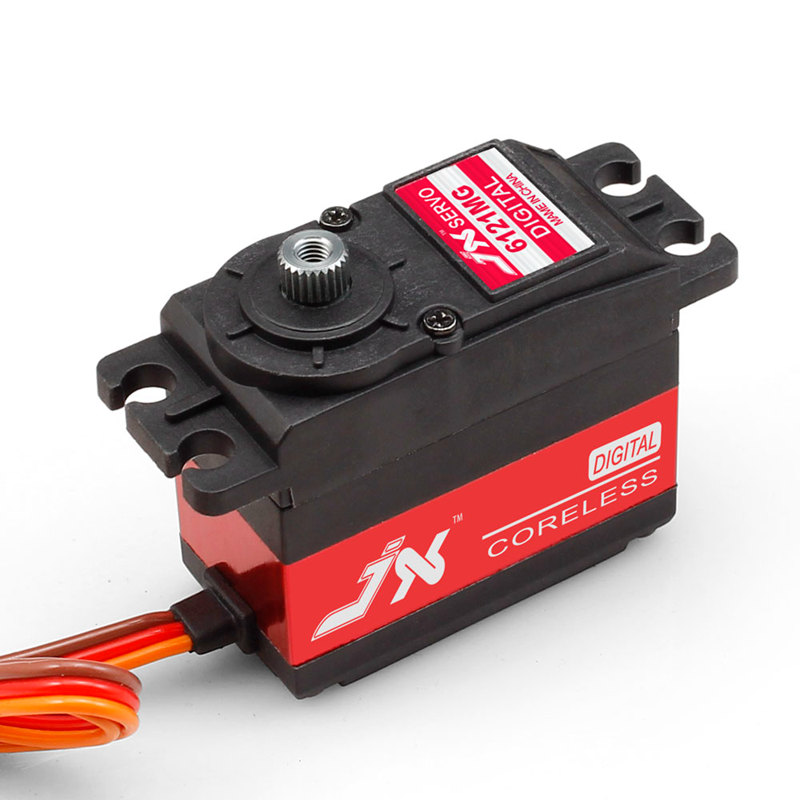 JX PDI-6121MG 1KG High Precision Metal Gear Digital Coreless Standard Servo for RC car boat airplane Robot jx servo pdi 6115 mg kg 15 large torque torque metal gear steering gear digital hollow cup standards
