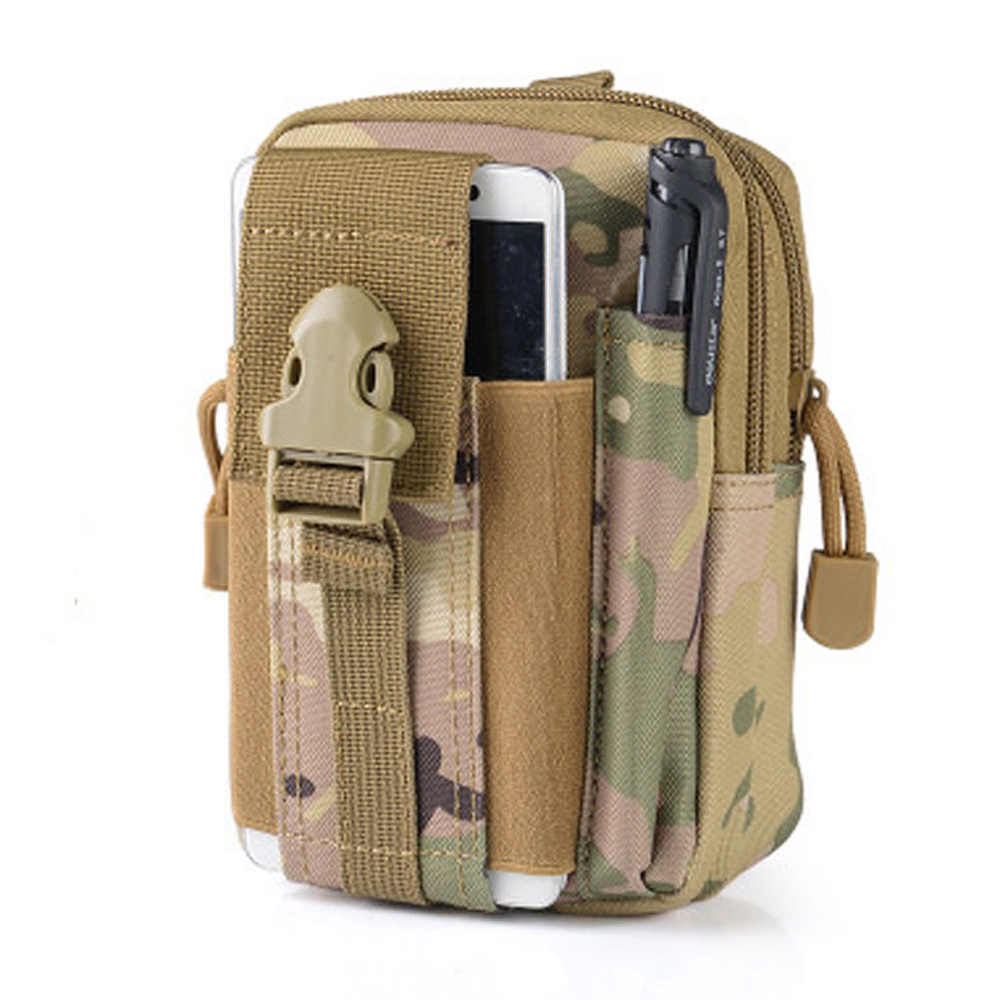 Outdoor Universal waterproof Army Tactical Bag Cell Phone Belt Loop Hook Case Pouch Holster Tool Parts universal waist belt bag pouch outdoor tactical holster military molle hip purse phone case